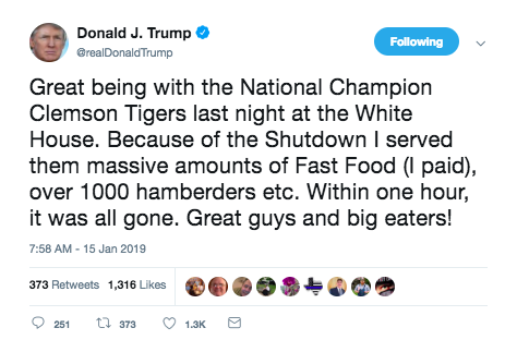 Burger King Hamberder Tweet