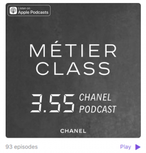 Chanel Podcasts - Social Engagement tools