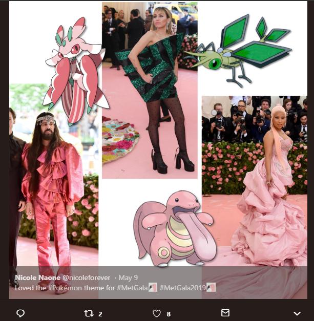 Memes regarding met outfits