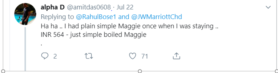 Expensive Maggie from Marriott