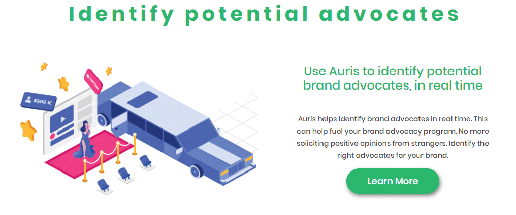 auris helps find influencers