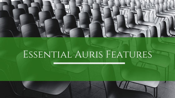 Auris Features to help you through COVID19
