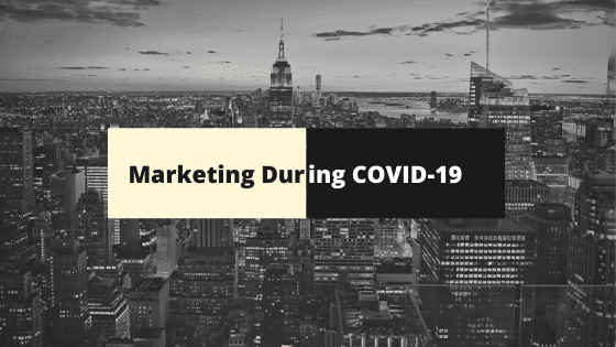 Marketing Communication during Coronavirus