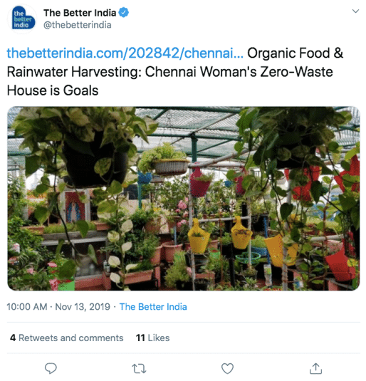 organic food news chennai