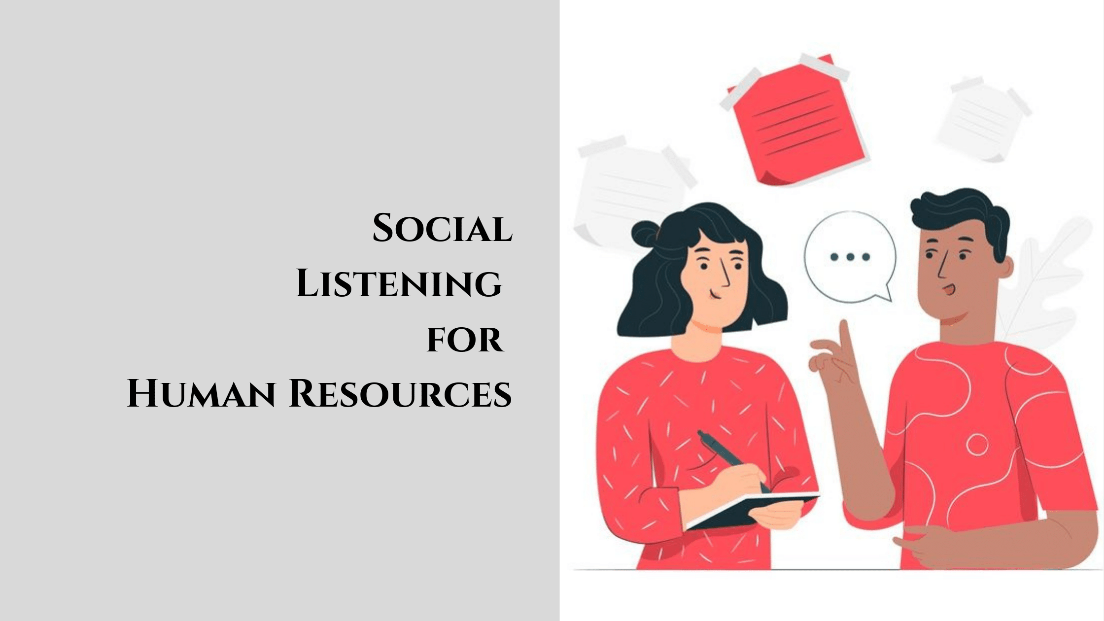 Social Listening for Human Resources
